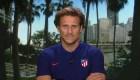 Diego Forlán opina sobre el Atlético en el All-Star Game