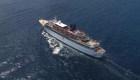 Crucero de la Cienciología, en cuarentena por sarampión