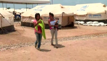 Un refugio para los que huyen de la crisis en Venezuela