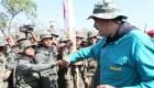 Maduro pide lealtad a las fuerzas armadas