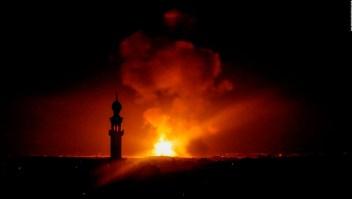 Lluvia de cohetes entre israelíes y grupos armados de Gaza
