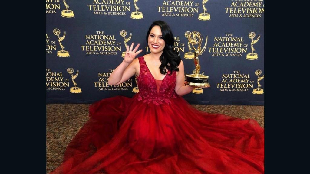 Alejandra Oraa gana su cuarto Emmy