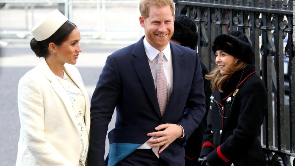 La duquesa de Sussex dio a luz a un niño
