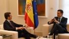 Pedro Sánchez se reúne con el líder del Partido Popular