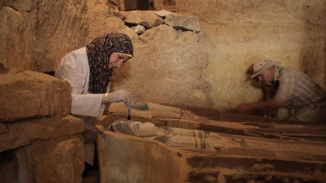 Estas tumbas egipcias tienen 4.500 años
