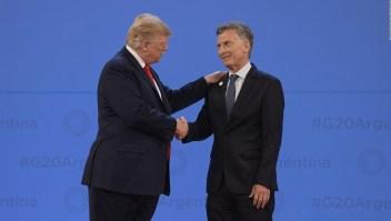 Trump habló con Macri por teléfono y apoyó su rumbo económico