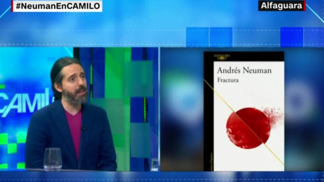"""Andrés Neuman: """"Cada vez me cuesta más trabajo escribir"""""""