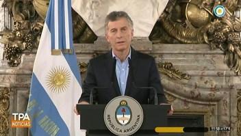 Macri habla sobre ataque a diputado Olivares
