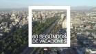 Recorre Santiago de Chile en 60 segundos de vacaciones