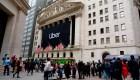 Uber se estrena en Wall Street