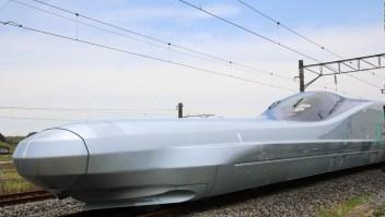 Japón prueba el tren bala más rápido del mundo