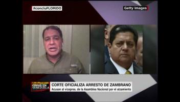 """Luis Florido: """"Necesitamos a las Fuerzas Armadas"""""""
