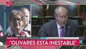 Diputado Olivares presenta falla multiorgánica