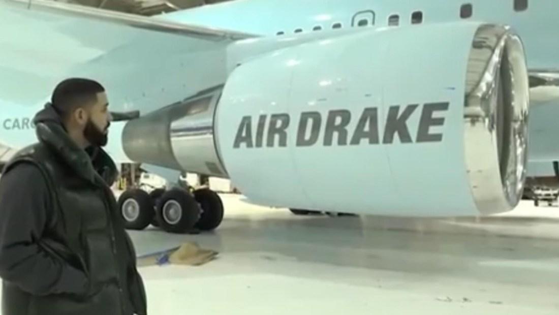 Drake presume su nuevo y costoso avión privado