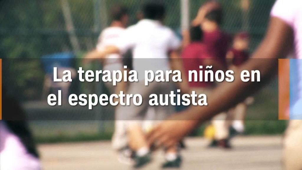 La terapia es vital cuando hablamos de autismo