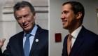 Venezuela: Guaidó y Macri siempre en contacto por WhatsApp