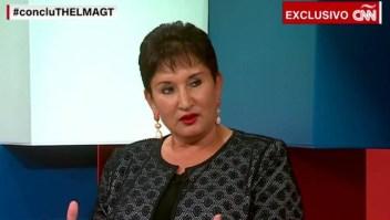 ¿Está protegida la candidata Sandra Torres?