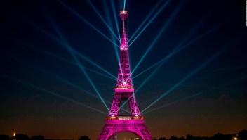 El gran festejo por los 130 años de la Torre Eiffel