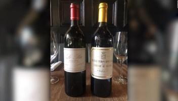 Mesero sirve por error el vino más caro del menú