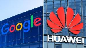 Google bloquea Android de dispositivos Huawei