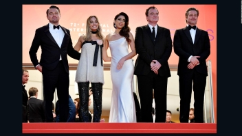 Cannes extediende la alfombra roja para Tarantino y sus amigos