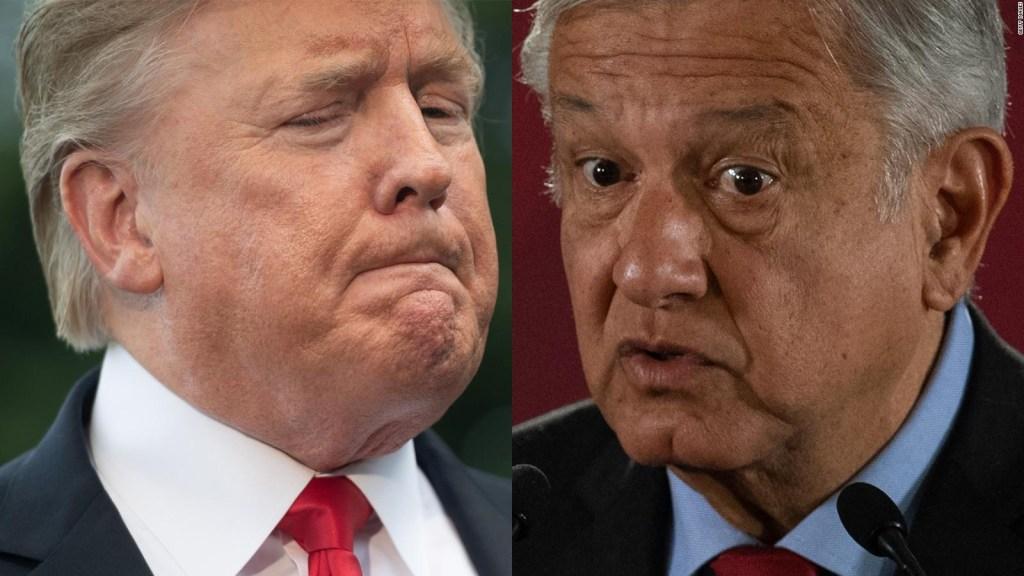 ¿Desdeñó Trump el plan de AMLO para frenar migración?