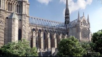 Así se vería la catedral de Notre Dame