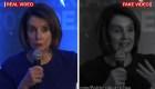 Manipulan video para hacer sonar borracha a Pelosi