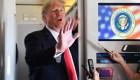 Trump dice que es un genio estable y calmado