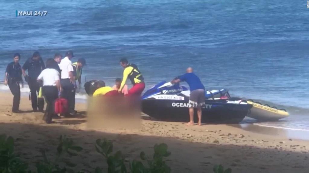 Un tiburón mata a un hombre en Hawai