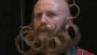 Los más excéntricos del mundial de barbas y bigotes