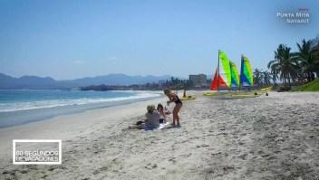 """Tómate 60 segundos de vacaciones en Punta Mita, una """"puerta al paraíso"""""""