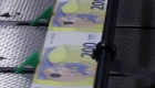 Euros con tecnología antifalsificación