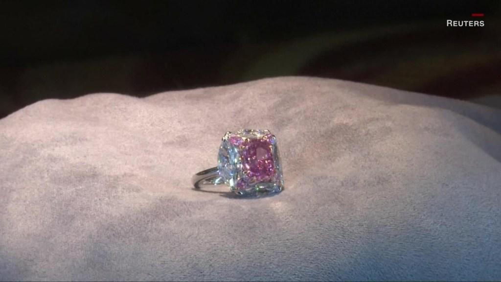 """El diamante """"chicle"""" se vendió por más de US$ 7,5 millones"""