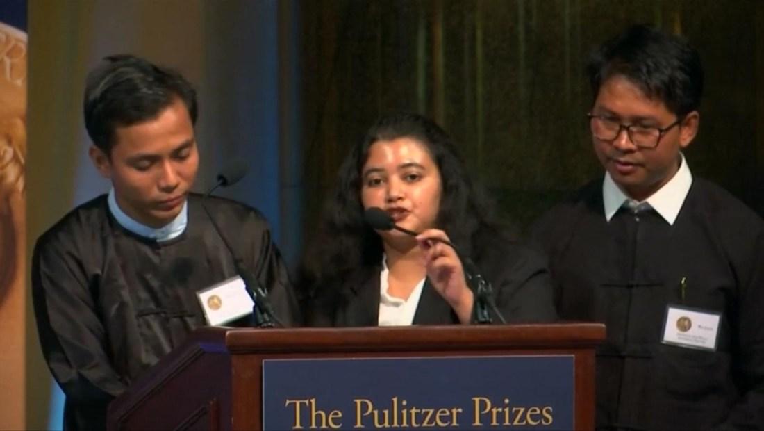 Tras 500 días detenidos en Myanmar, periodistas de Reuters reciben el Pulitzer