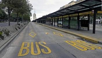 Gran adhesión a la huelga: así fue el paro general en Argentina