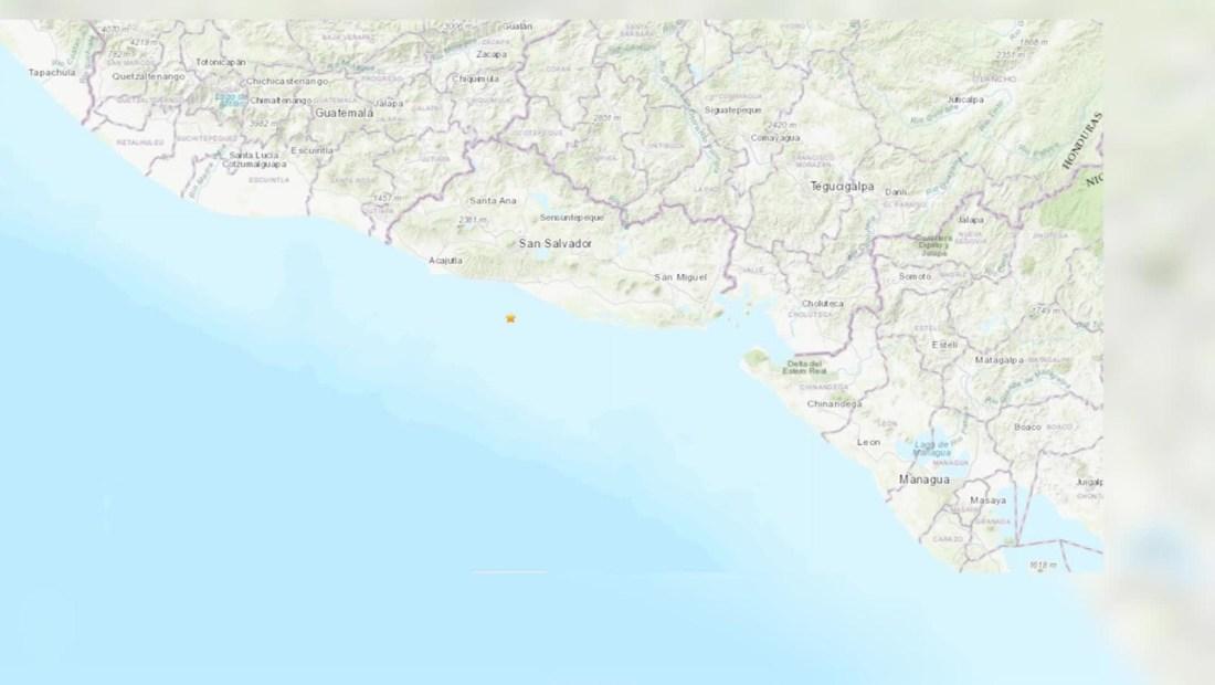 Sismo de 6,6 estremece El Salvador