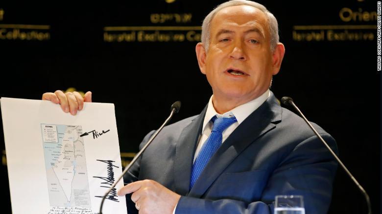 Benjamin Netanyahu, Donald Trump