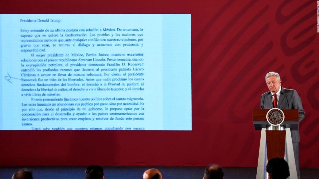 EE.UU. anuncia aranceles a productos provenientes de México