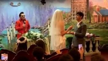 Un DJ arruinó la boda de Joe Jonas con Sophie Turner