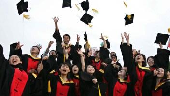 Estudiantes China cuidado EE.UU.