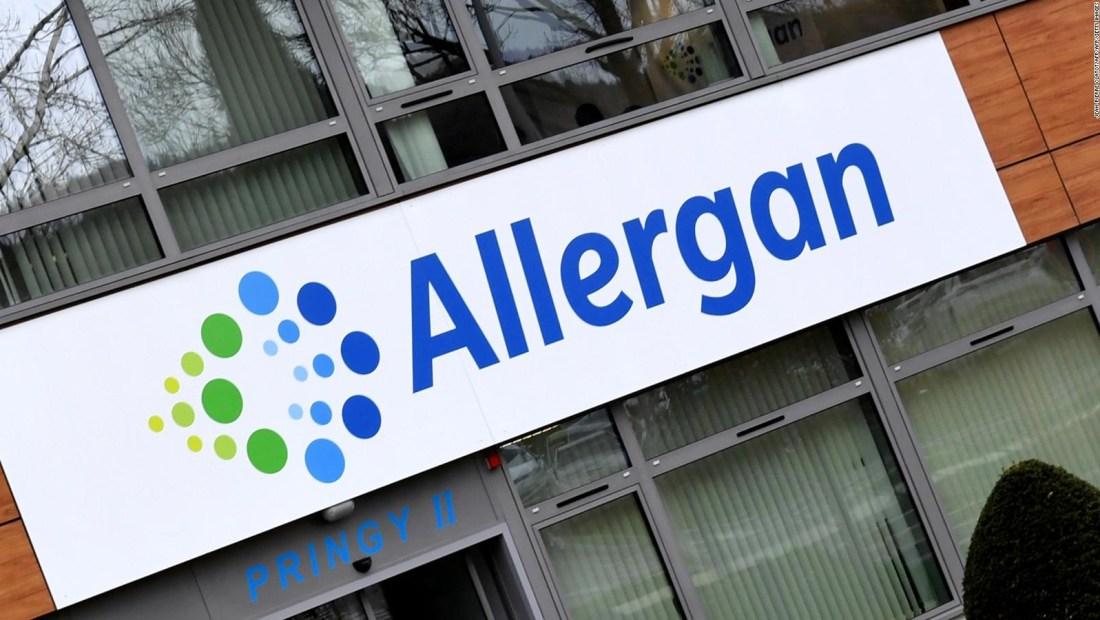 Fabricante de Botox Allergan adquirida por US$63.000 millones