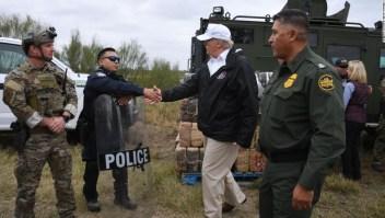 Juez demócratas muro