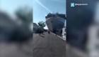 Crucero se estrelló contra barco turístico en Italia