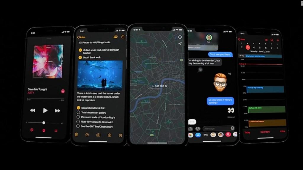 El modo oscuro llega al iPhone