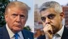 Trump: Sadiq Khan debe ser positivo, no negativo