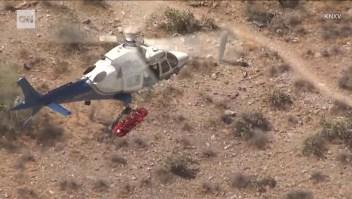 Un rescate en helicóptero se convirtió en una pesadilla
