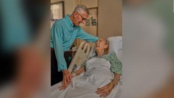 Hombre de 86 años dona su riñón