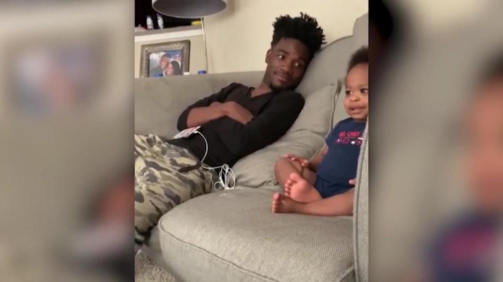 Tierna charla entre padre e hijo se vuelve viral
