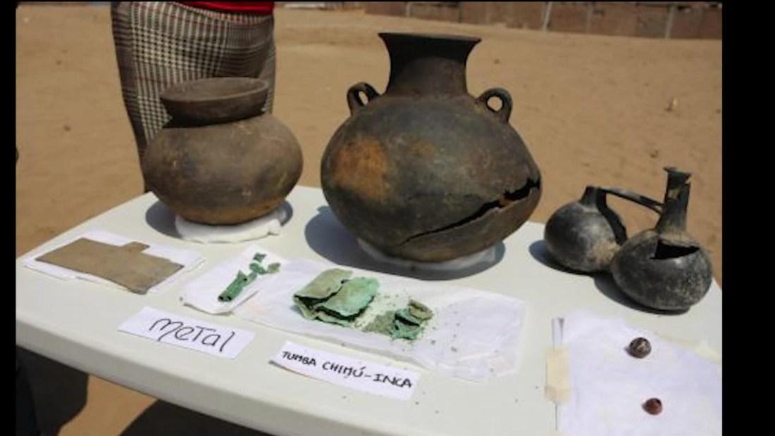 Hallazgo arqueológico en Perú